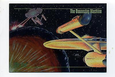 Skybox 1993 Star Trek Master Series Spectra Chase Card S-5 (S5) Doomsday Machine