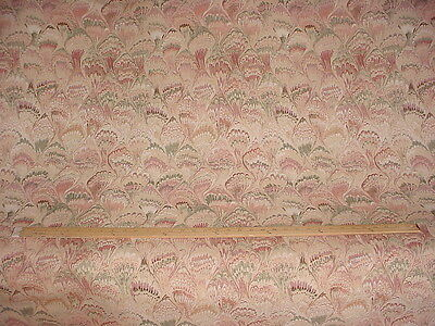 4Y Kravet Jonelle Cambridge Floral Chevron Silk Drapery Upholstery Fabric
