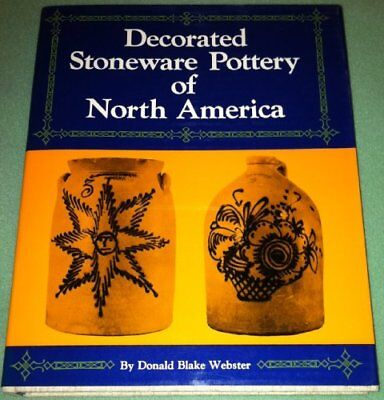 Decorated Stoneware Pottery of North America by Donald B. Webster (1970,...