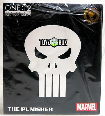 """Mezco One 12 Marvel Comics SDCC 2018 """"The Punisher"""" Special Ops Action Figure"""