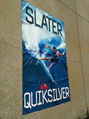 Quiksilver Kelly Slater Surfing Promotional Store Banner