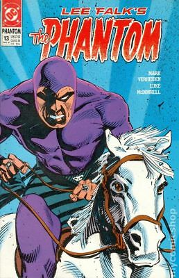 Phantom (DC 2nd Series) #13 1990 FN Stock Image