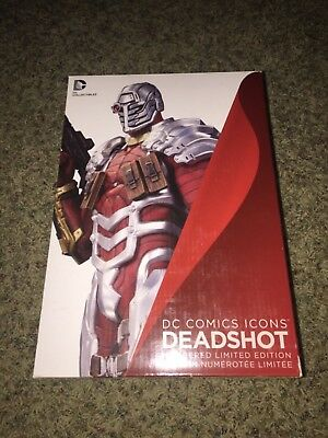 DC Icons: Deadshot Statue Collectibles Brand New 48/5200 Sealed