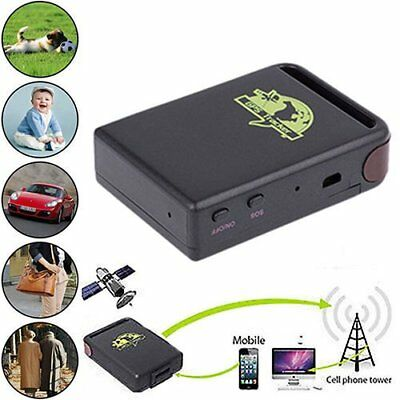 GSM GPRS GPS Car Auto Tracker Vehicle Tracking Locator Device TK102B NEW