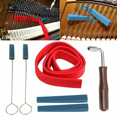 6Pcs Piano Tuning Lever Tools Kit Mute Hammer DIY Set Piano Part SZUSDT