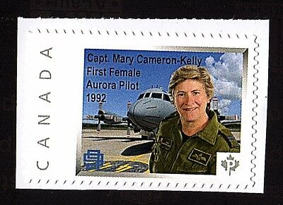 Canada 2587 (Mary Cameron-Kelly) ; Single from Booklet ;  MINT NH VF