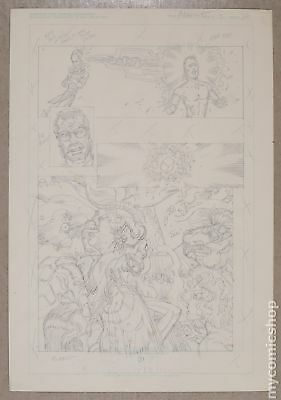Original Art for Atomic Clones Issue 3, Page 20 by Paris Cullins (Unreleased)