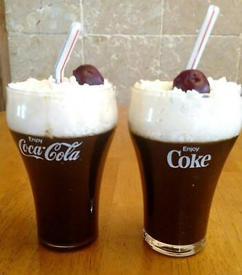 Coke Cola Scented Candles, Vintage Collectables Coke Glasses Save 2.00 on 2-12oz