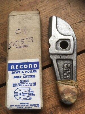 New Record Replacement Bolt Cutter Jaws 914 Made In England