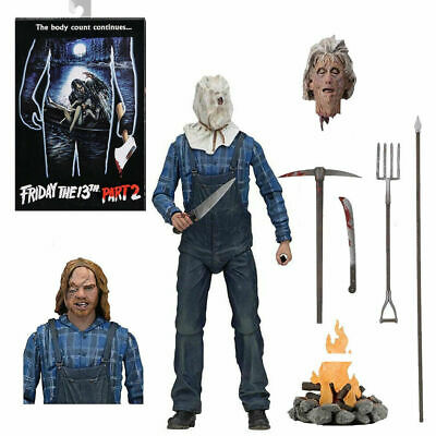 """Friday the 13th Part 2 Ultimate Jason Vorhees 7"""" action figure NECA - OFFICIAL"""