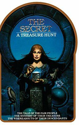 The Secret - A Treasure Hunt - by Byron Preiss, Hardcover Book in English