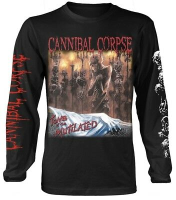 Cannibal Corpse 'Tomb Of The Mutilated' Long Sleeve Shirt - NEW & OFFICIAL!