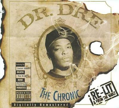 Dr. Dre - The Chronic [Re-Lit And From The Vault] [Pa] Used - Very Good Cd