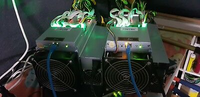 Bitmain Antminer S9 x 2 Units 13.5TH/s Bitcoin Miner+ power supply and pwr cord