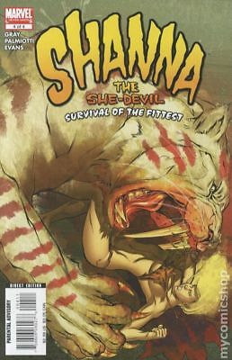 Shanna The She-Devil Survival of the Fittest #4 2008 VF Stock Image