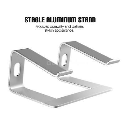 Stable Aluminum Laptop Stand Mount Riser for PC Tablet Pad Notebook MacBook Pro