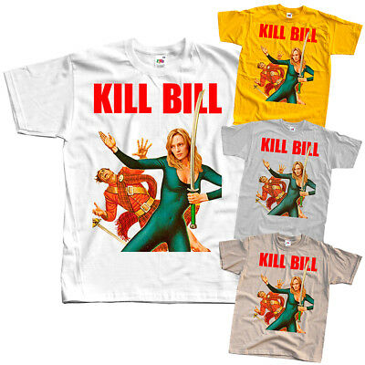 Kill Bill V16, Quentin Tarantino, 2003 T SHIRT WHITE YELLOW all sizes S to 5XL