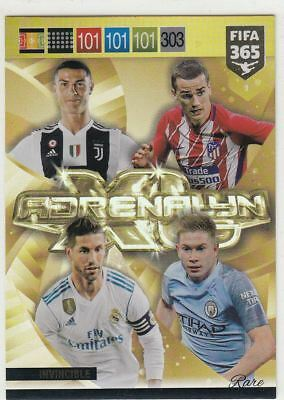 Panini Fifa 365 2019 Adrenalyn XL Power Up Fans Multiple Rare Badge Fans Auswahl