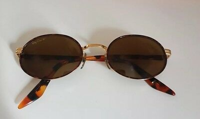 Vintage Ray Ban Bausch Lomb W2895 Round Polarized Sunglasses