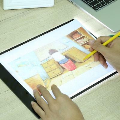 A4 Graphic Drawing Tablet LED Drawing Panel 2D Bright Board Light Box Table Pad
