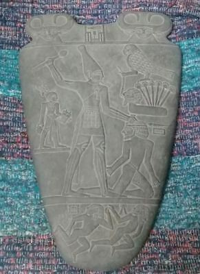 ANCIENT RARE EGYPTIAN ANTIQUE NARMER PALETTE 31Bc