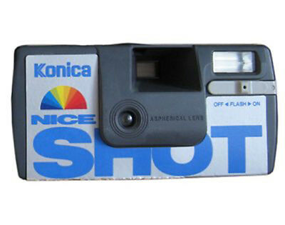 Developing Of A Single Use, Disposable Camera Film  Into A Photo Cd Service