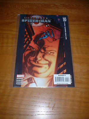 Ultimate Spider-Man 110. Nm Cond. Aug 2007. Bendis / Bagley / Hennessy