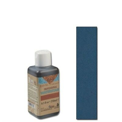 Eco-flo Professional Waterstain Blue 250ml Leather Dye Colour Tandy 2800-07 -