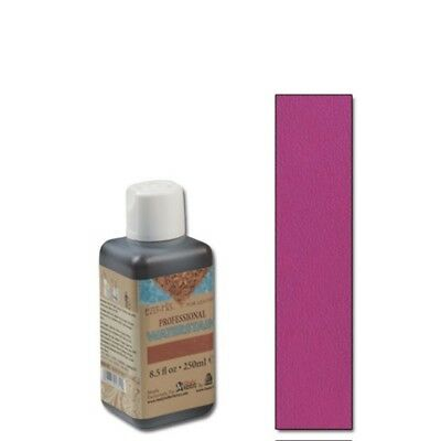 250ml Fuchsia Eco Leather Water Stain - Flo Professional 85 Oz Tandy