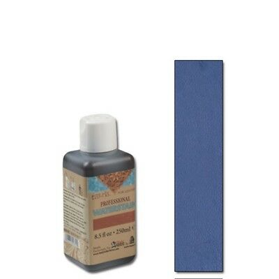250ml Navy Blue Eco Leather Water Stain - -flo Professional Water 8.5 Oz. Tandy