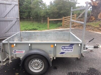 ** Ifor Williams Gd64 Single Axle Trailer With Ladder Rack ** Good Condition**