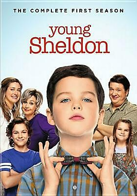 Young Sheldon:complete First Season - DVD Region 1 Free Shipping!