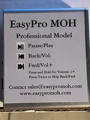 EasyPro MoH Music on Hold - Message on Hold