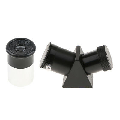 H20mm Astronomy Telescope Lens Eyepiece 0.965inch + 45 Degree Erecting Prism
