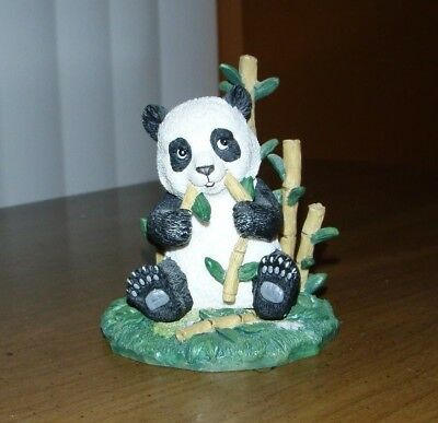 Giant Panda Hamilton Collection-Resin 1995-Repairs