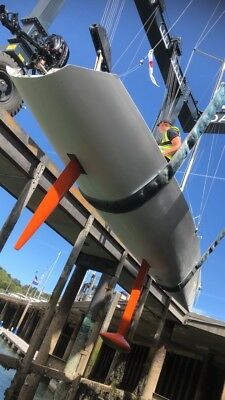 One-Off Professionally Built Sailing Yacht Lifting keel Carbon Rig, road trailer
