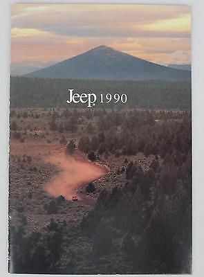 Jeep Eagle 1990 #34003 Sales Brochure / Literature