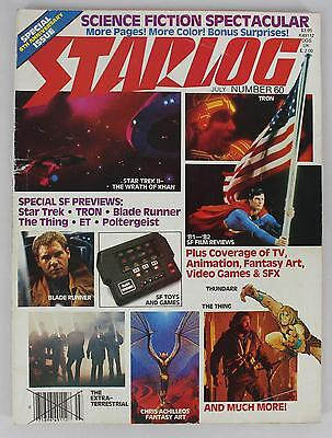 Starlog Magazine #60 1982 July 6th Anniversary Special Issue Spectacular