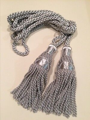 SILK CORDS FOR BAGPIPES (Silver)