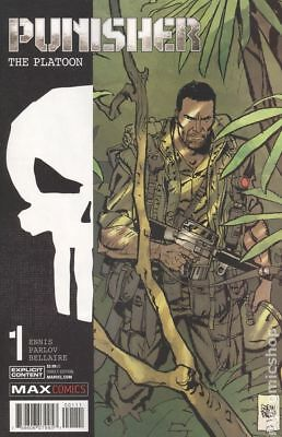 Punisher The Platoon (Marvel) 1A 2017 Parlov Variant NM Stock Image