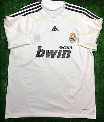 813da03d7ae Real Madrid 2009 2010 Home Football Soccer Jersey Shirt Camiseta Adidas  Size Xl