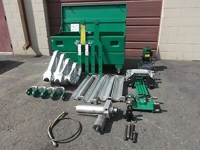 Greenlee 881 bender, 960 Hydraulic pump,  1813 table  Good COND