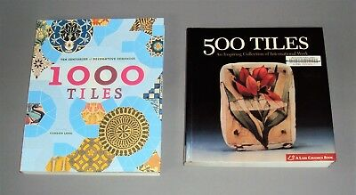The Inspiring Collection of 1500 Tiles From Ten Centuries to Present  2 Books