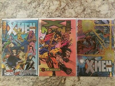 X Men Age of Apocalypse Crossover Near Complete NM 1995  36 Books! Marvel Event