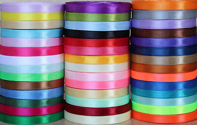 Hardy'sTextile 10mmWidthSatin Ribbon Scrapbook Wedding Wrap Party Decor $2.99/3M