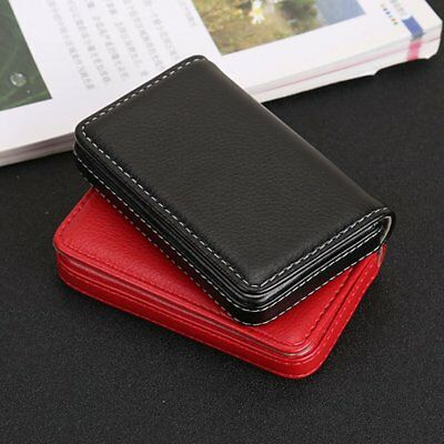 Magnetic Design Card Holder Bag Business Card Package PU Leather Card Case MT