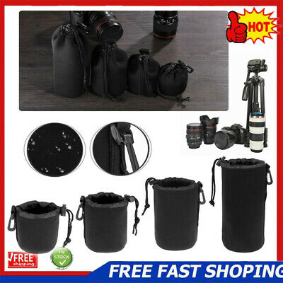 Waterproof DSLR Camera Lens Pouch Bag Protective Shockproof Case For Canon Nikon