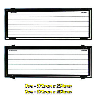 Number Plate Covers 6 Figure Standard Black Lined & Silver Border One Pair 6LS