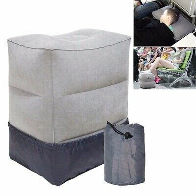 Fashion Durable Inflatable Foot Rest Home Relax Travel Pillow Pad Air Cushion