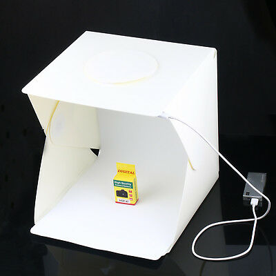 Light Room Photo Studio Photography Lighting Tent Kit Backdrop Cube Mini Box NEW